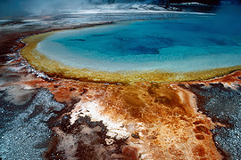 Prismatic Hot Spring Yellowstone National Park Wyoming